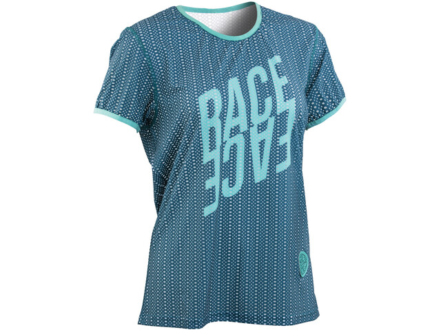 Race Face Maya Maillot manches courtes Femme, dark spruce